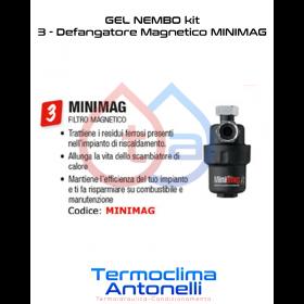 DEFANGATORE MAGNETICO GEL MINIMAG 3/4 E TANICA INIBITORE LONG LIFE 100 1 LT 10129900