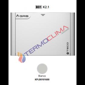 PLACCA BIANCA PER VALVOLA TECO K2.1     KPLB0101600