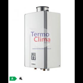 SCALDABAGNO A GAS RINNAI INFINITY 28i METANO REU-VCM2837FFUD-NG kit fumi compreso