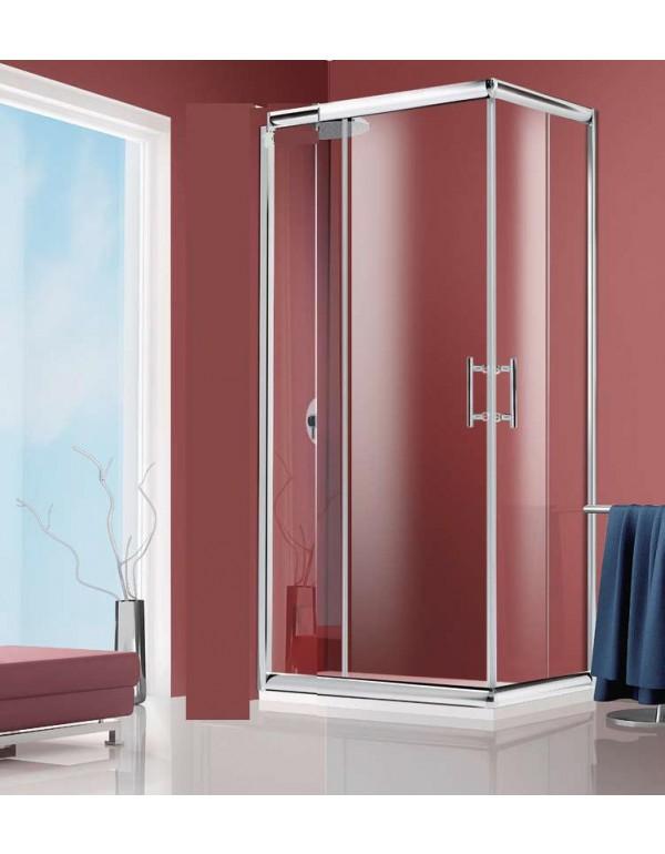 Box doccia Cristallo 6 mm QUADRO 70x70