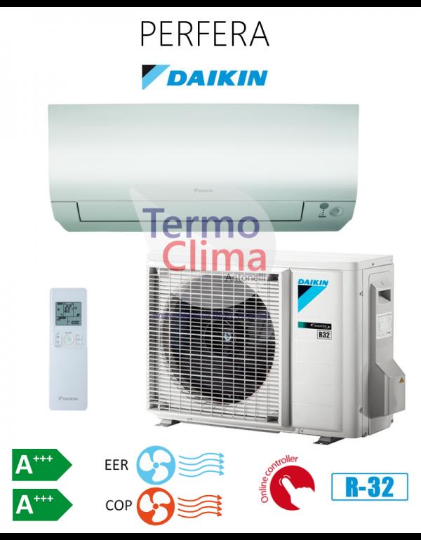 CLIMATIZZATORE CONDIZIONATORE DAIKIN MONO SPLIT INVERTER serie PERFERA R-32 Bluevolution 7000 FTXM20M con RXM20M9