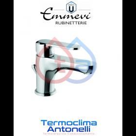 Miscelatore lavabo cromato con scarico automatico EMMEVI NEFER CR77033