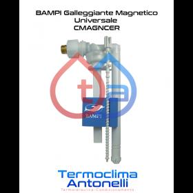 """RICAMBIO BAMPI GALLEGGIANTE UNIVERSALE MAGNETICO SILENZIOSO PER CASSETTE SCARICO WC 3/8"""" CMAGNCER"""