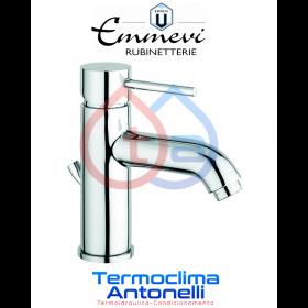 Miscelatore lavabo cromato con scarico automatico EMMEVI PIPER CR45003