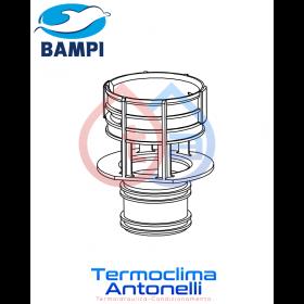 RICAMBIO BAMPI Cestello valvola [X VALVOLA BSILENT CRISIL08] CASSETTE BAMPI BSILENT CRISIL09