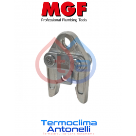 GANASCIA UNIVERSALE Pressfitting profilo V per raccordi rame 18 mm MGF TOOLS 281525
