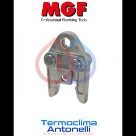 GANASCIA UNIVERSALE Pressfitting profilo V per raccordi rame 22 mm MGF TOOLS 281526