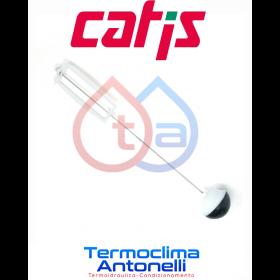KIT ASTA TELAIO E VALVOLA CASSETTA INCASSO 14 LT [SFERA PLASTICA] CATIS E9005