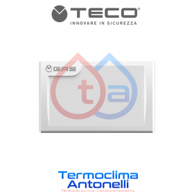 PLACCA BIANCA   PER RUBINETTO INCASSO TECO  GAS K2.0 (VALVOLE PRODUZIONE 2009- 2017) A01  DM. 120 X 80 mm  TECO K2PL0001