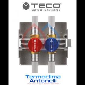 COLLETTORE ACQUA TECO K4.0 FASTEC 2 RUBINETTI DI INTERCETTAZIONE TECO K400BF10100