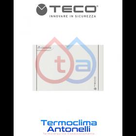 PLACCA BIANCA PER VALVOLA COLLETTORE TECO K2.2 e K2.3 Misura 196 x 120, C01    K7PL0001