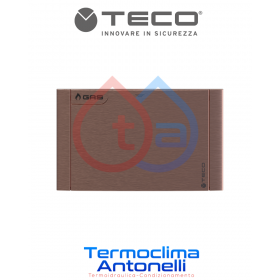 PLACCA RAME   PER RUBINETTO DA INCASSO TECO GAS K2.1 K2.0  B01   DM. 135 X 90  TECO KPLB0101700