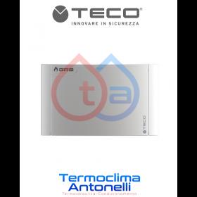 PLACCA SILVER   PER RUBINETTO DA INCASSO TECO GAS K2.1 K2.0 B01   DM. 135 X 90  TECO KPLB0101800