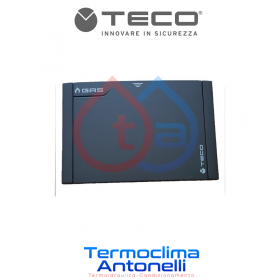 PLACCA NERA PER VALVOLA TECO K2.1 , misura 135x90, B01    KPLB0101A00