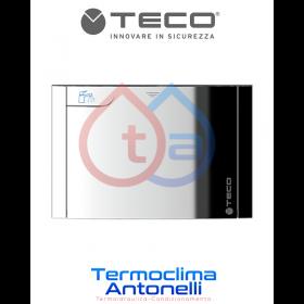 PLACCA CROMO PER VALVOLA DI INTERCETTAZIONE PER IMPIANTI SANITARI ACQUA TECO K4.0 K4.2 B03 DM. 135 x 90 mm TECO KPLB0301M00