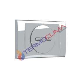 PORTINA CROMATA PER VALVOLA INCASSO FIV GAS BOX 6192P003