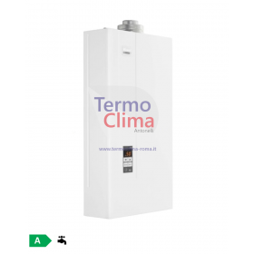 SCALDABAGNO A GAS RINNAI INFINITY 14i GPL da interno REU-1420FFU-LPG kit fumi compreso