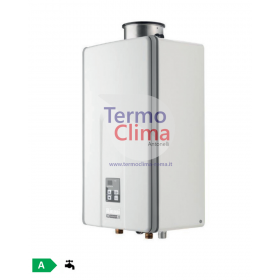 SCALDABAGNO A GAS RINNAI INFINITY 28i GPL REU-VCM2837FFUD-LPG kit fumi compreso