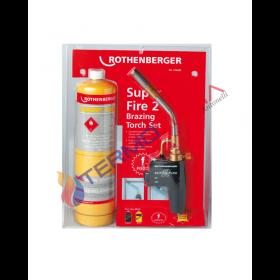 SALDATORE PIEZOELETTRICO ROTHENBERGER SUPER FIRE 2 + BOMBOLA MAPP