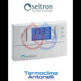 Cronotermostato digitale giornaliero SEITRON Freetime Plus TCD01B
