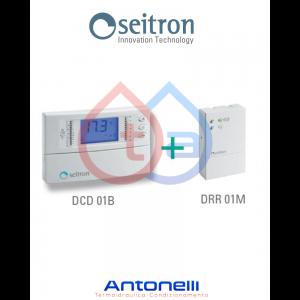 Cronotermostato digitale giornaliero senza fili WIRELESS SEITRON Freetime Plus KCR005
