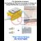 VALVOLA A SFERA DA INCASSO GAS BOX FIV COMPLETA DI PORTA CROMATA E RACCORDI MULTISTRATO 20 A PRESSARE (U/TH)