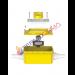 VALVOLA A SFERA DA INCASSO GAS - FIV GAS BOX 3/4 - 3/4