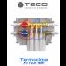 COLLETTORE MONO-INTERCETTAZIONE PER IMPIANTI SANITARI TECO K4.2 collegamenti FASTEC F13F placca B03 TECO K402BF10100